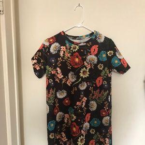 T Shirt Floral Dress